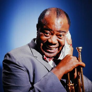 Louis Armstrong - What A Wonderful World постер